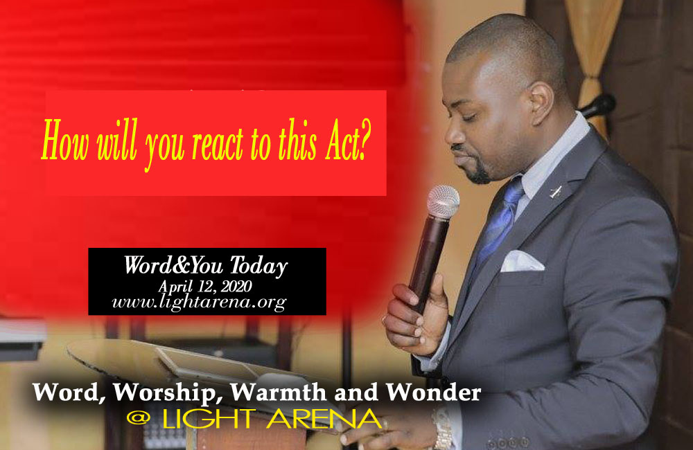 Word&You Today 13th April 2020